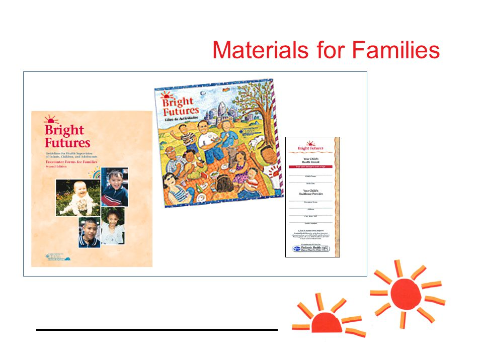 Materials for Families