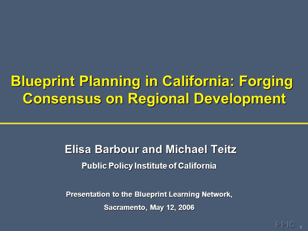 22 Smaller Regions More Familiar with Blueprint Processes 0 20 40 60 80 Not familiarSomewhat familiarVery familiar Los Angeles and SF Bay areas Sacramento and San Diego areas Planning directors (%)