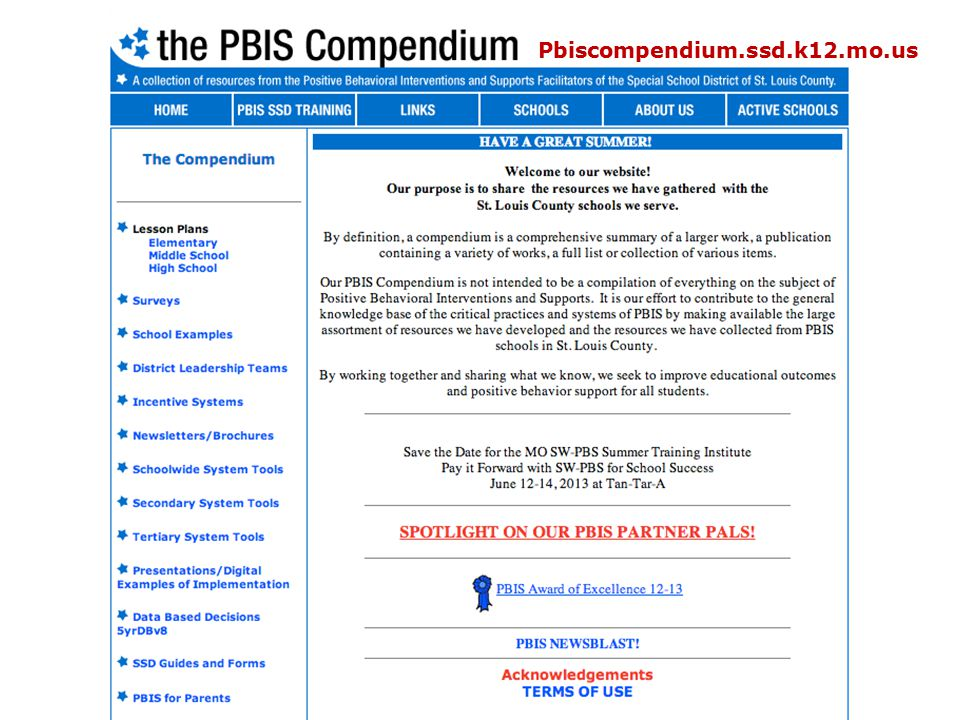 Pbiscompendium.ssd.k12.mo.us