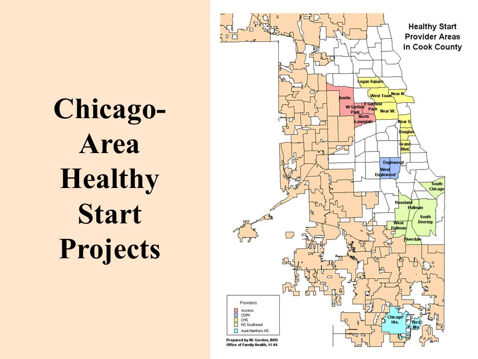 Chicago- Area Healthy Start Projects