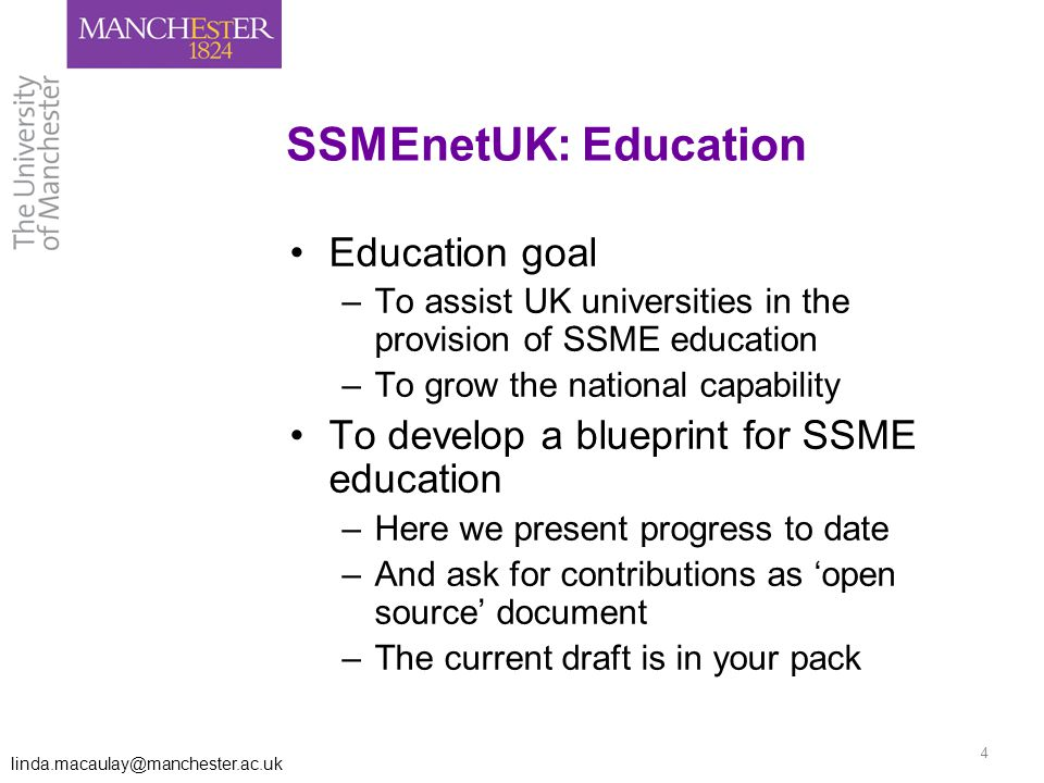 A blueprint for uk ssme education linda a macaulay babis 4 malvernweather Gallery