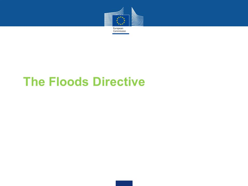 The Floods Directive