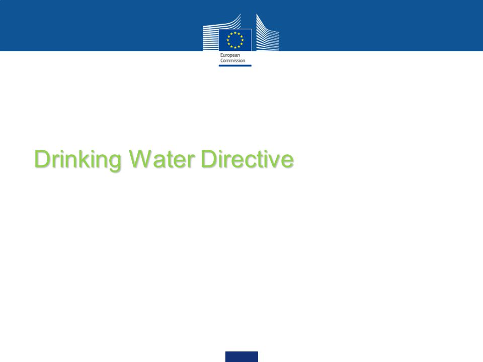 Drinking Water Directive
