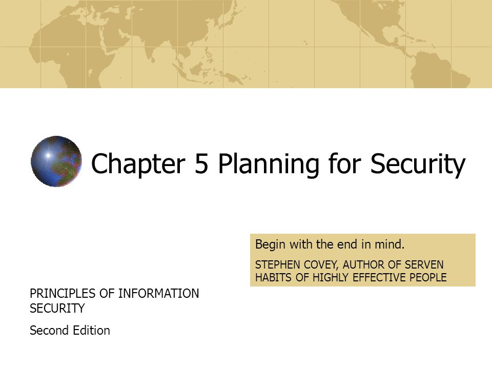Spring 2007CPSC375@UTC/CS ISSP Issue-Specific Security Policy Addresses specific areas of technology Requires frequent updates Contains a statement on the organization's position on a specific issue