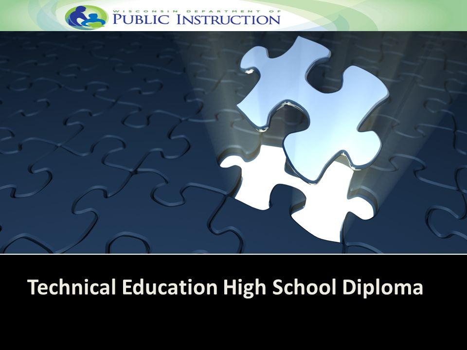 Technical Education High School Diploma
