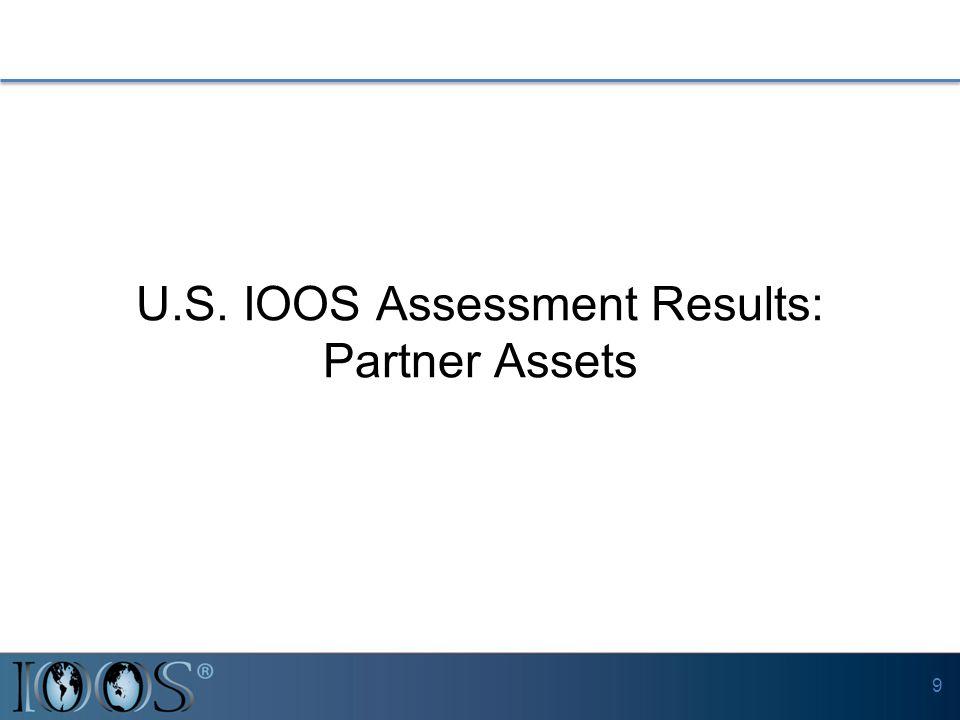 U.S. IOOS Assessment Results: Partner Assets 9