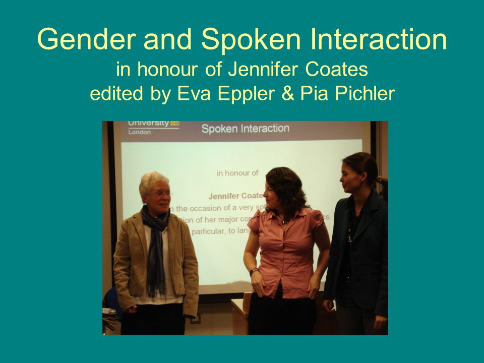 Conclusion interactional styles The way of speaking outlined in this paper is thus most fully realised in interaction among the Austrian Jewish women living in London (as opposed to in interaction with people who typically draw on other strategies) First, they only code-switch in in-groups situations.
