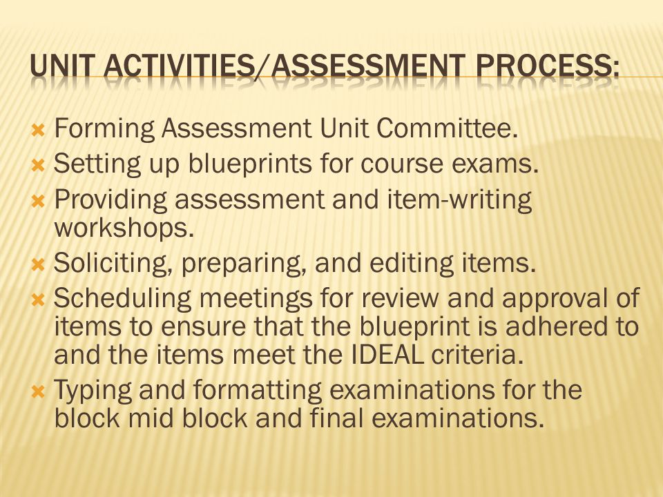  Collating, delivering, and retrieving written examinations.