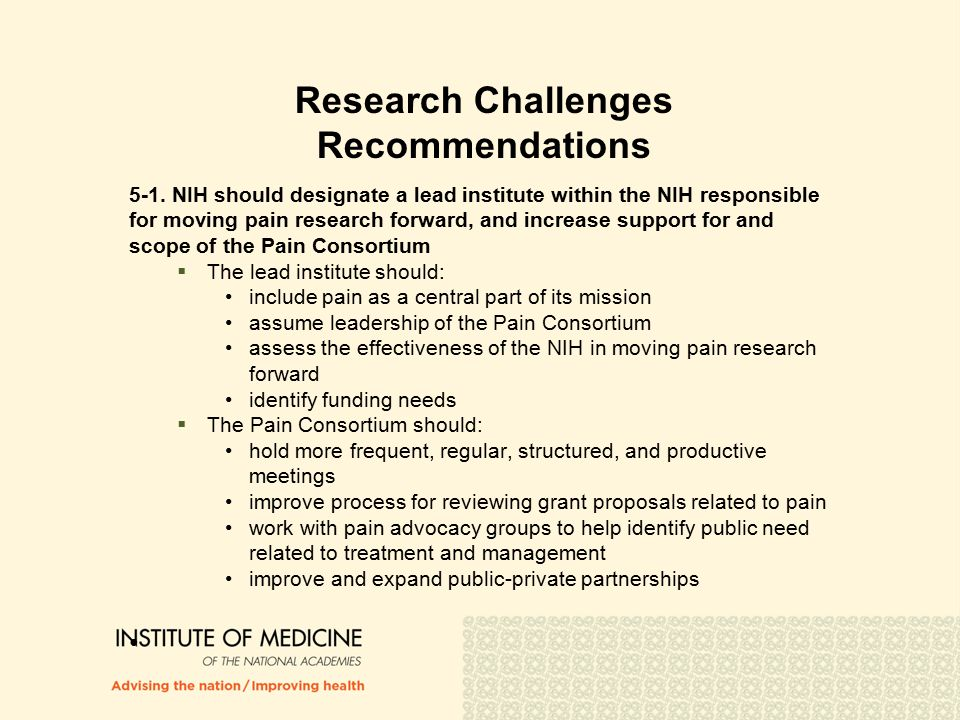 Research Challenges Recommendations 5-1.
