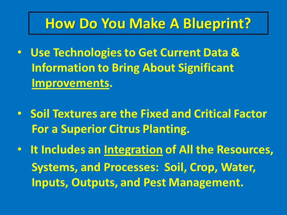 How Do You Make A Blueprint.