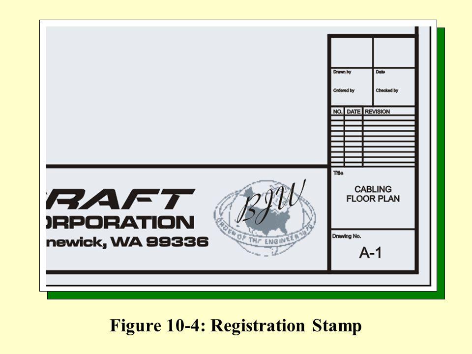 Figure 10-4: Registration Stamp