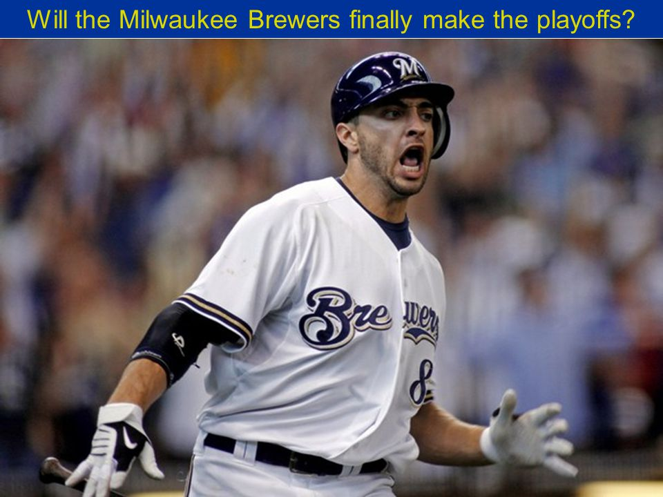 Will the Milwaukee Brewers finally make the playoffs?