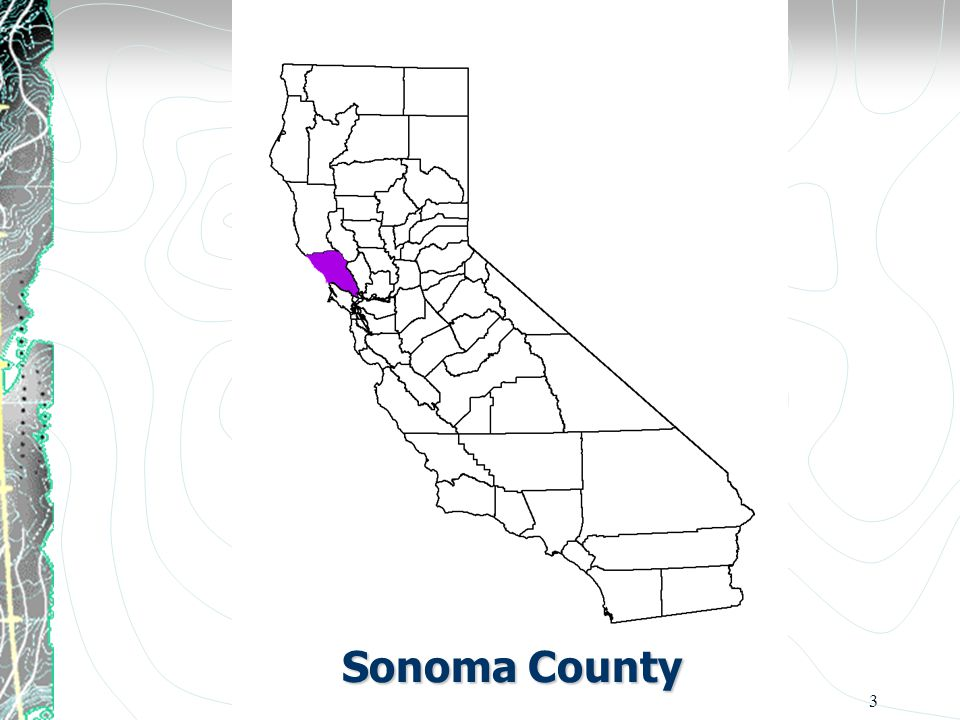 3 Sonoma County