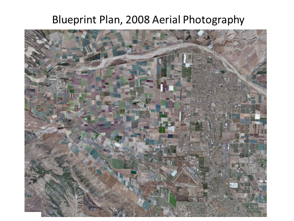 Blueprint Plan, 2008 Aerial Photography