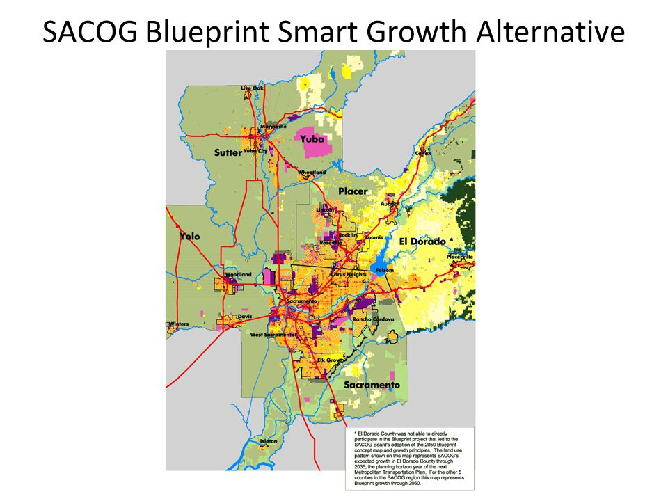 SACOG Blueprint Smart Growth Alternative
