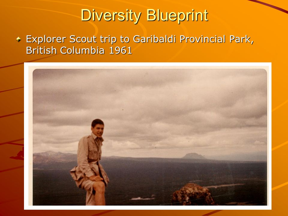 Diversity Blueprint Explorer Scout trip to Garibaldi Provincial Park, British Columbia 1961