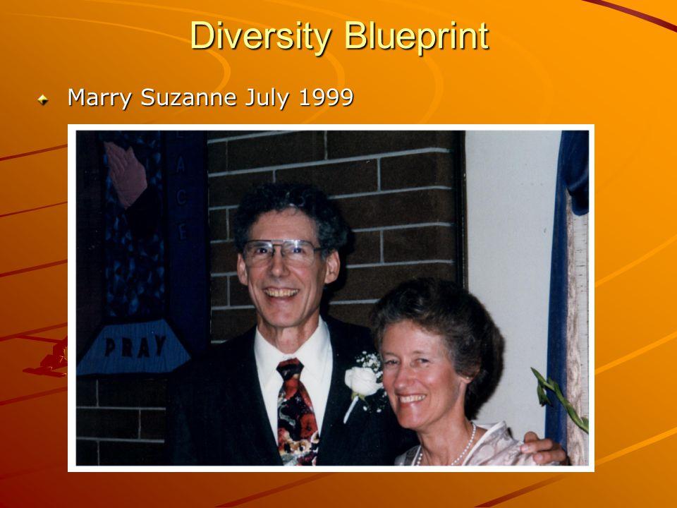 Diversity Blueprint Marry Suzanne July 1999 Marry Suzanne July 1999