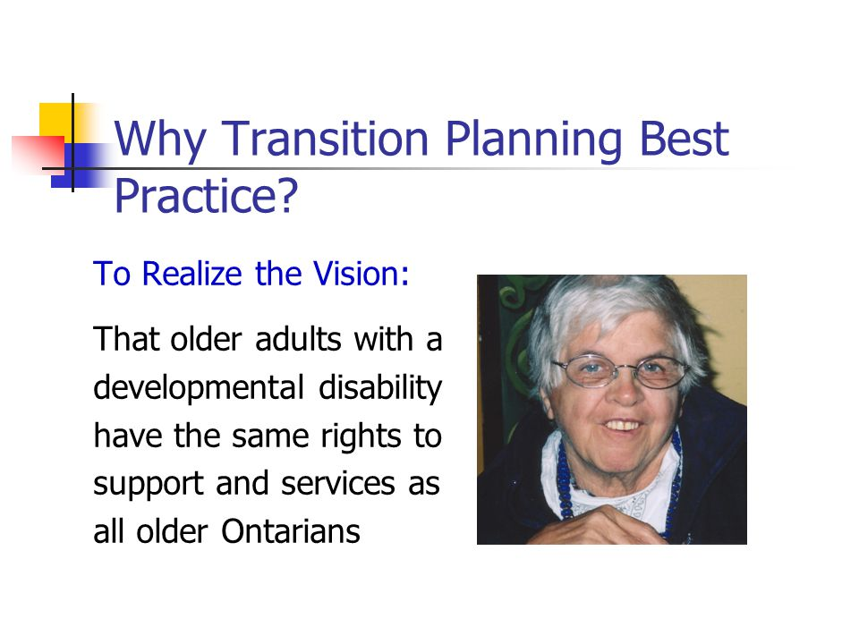 Why Transition Planning Best Practice.