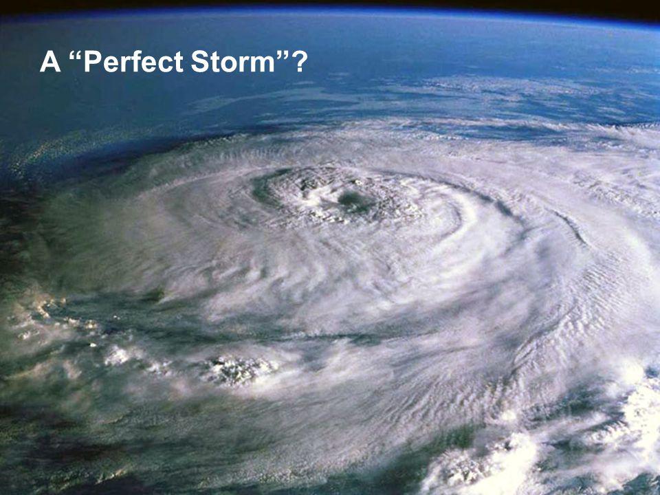 A Perfect Storm ?