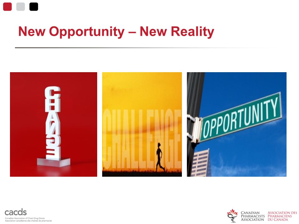 New Opportunity – New Reality