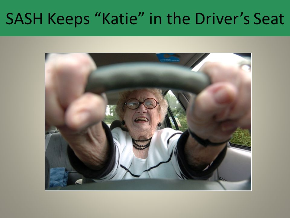 "SASH Keeps ""Katie"" in the Driver's Seat"