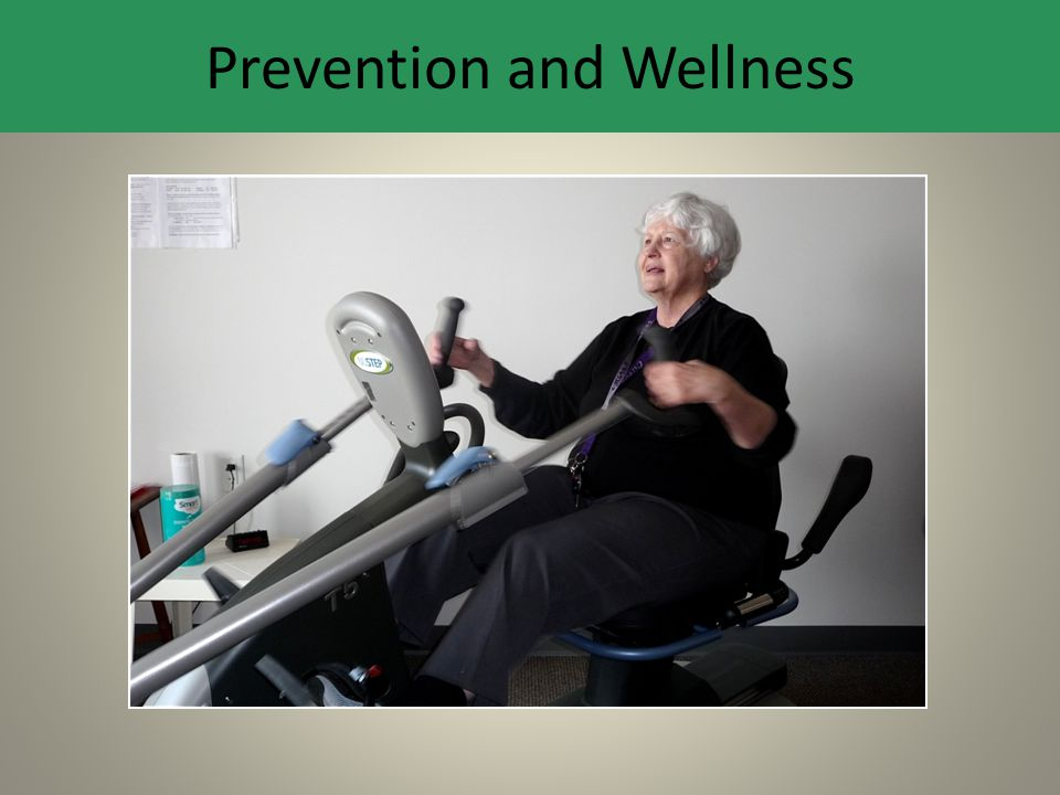 Prevention and Wellness