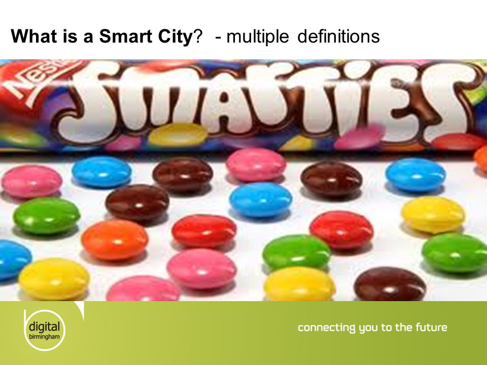 What is a Smart City - multiple definitions