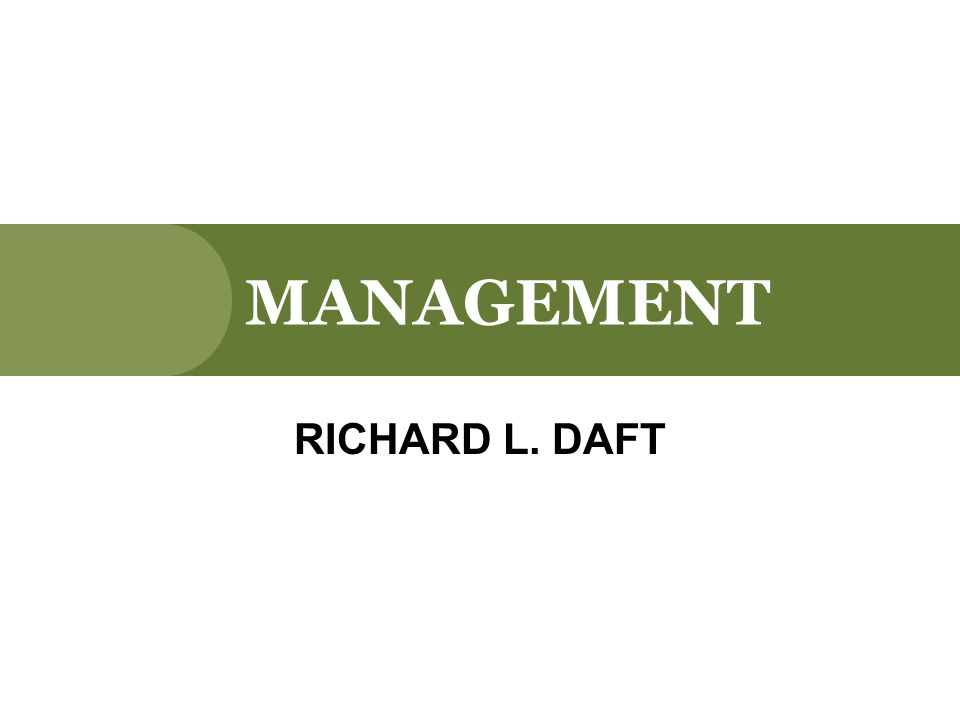 Managerial Planning and Goal Setting CHAPTER 6