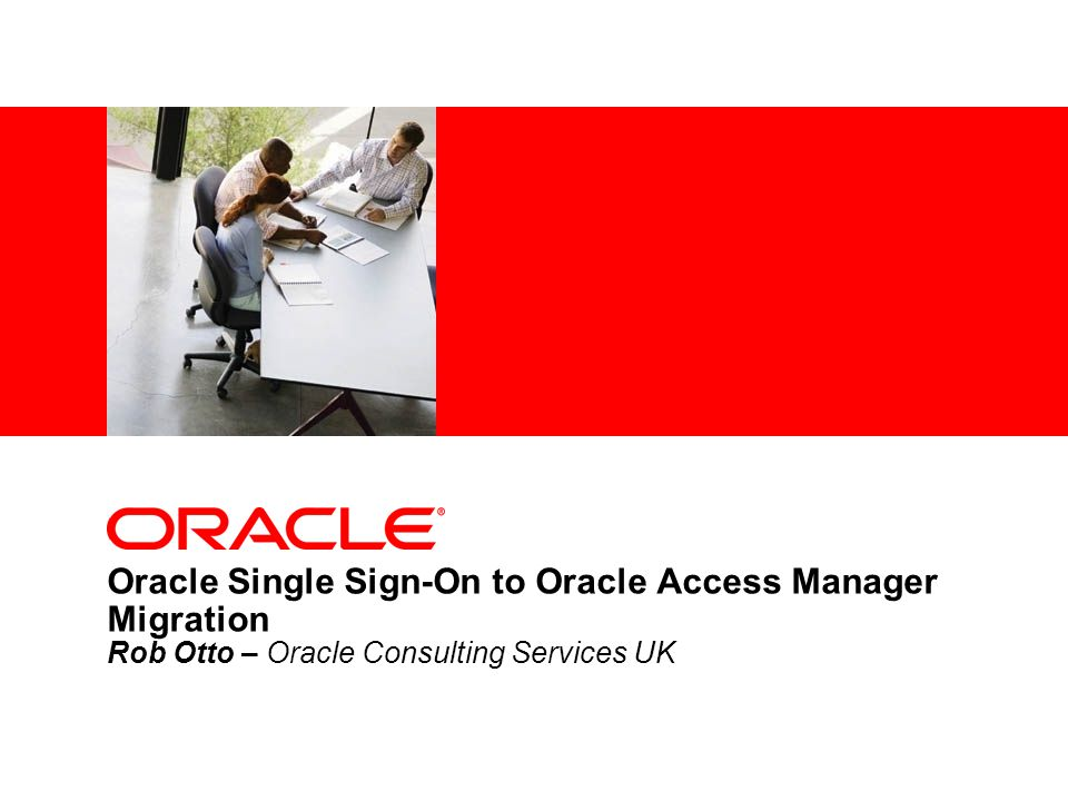 - 12 - Oracle Access Manager 11g Key FeaturesBenefits Modular ArchitectureSeparated admin and runtime server to enable independent operations Secure Policy ModelAccess is denied by default until policies are created to allow access Simplified Install & ConfigOne package to install and one series of steps to configure a simple working environment Session ManagementAllows admin tracking and termination of user sessions Diagnostics & MonitoringAllows administrators to monitor key operational metrics in real-time Central Agent Management Administration console provides a holistic view of all agents and shows the server they are connected to Backwards CompatibilityCompatible with 10g webgates and 10g mod_osso Windows Native AuthNEnables Windows desktop to web single sign-on Improved UtilitiesRemote registration utility, remote access tester, and WLST cmds for policy operations