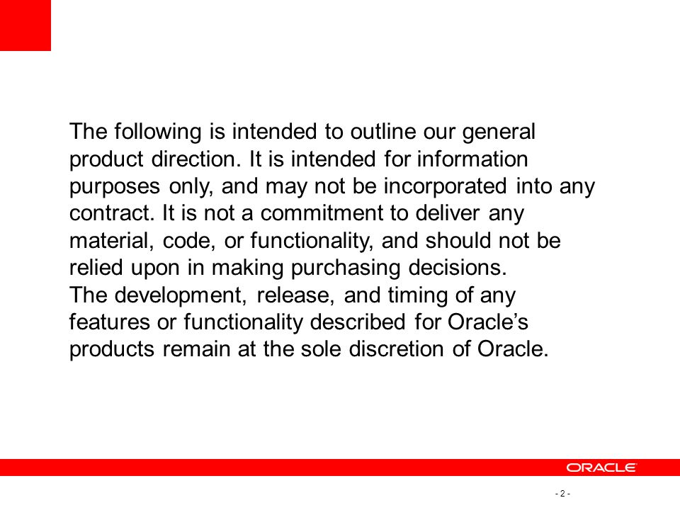 - 13 - Oracle Access Manager 11g Architecture – Runtime Server Protocol Compatibility Framework OAM Server Coherence Distributed Cache Oracle Platform Security Services Credential Collector Session Management SSO EngineAuthN Service AuthZ Service Identity Provider Token Processing Partner & Trust Configuration Service Policy Service