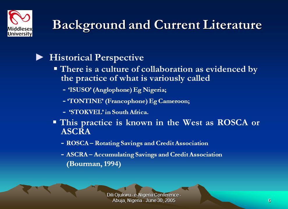 Dili Ojukwu - e-Nigeria Conference - Abuja, Nigeria - June 30, 20057 Why The New Model.