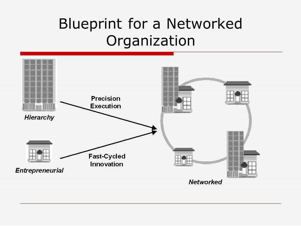 Blueprint for a Networked Organization