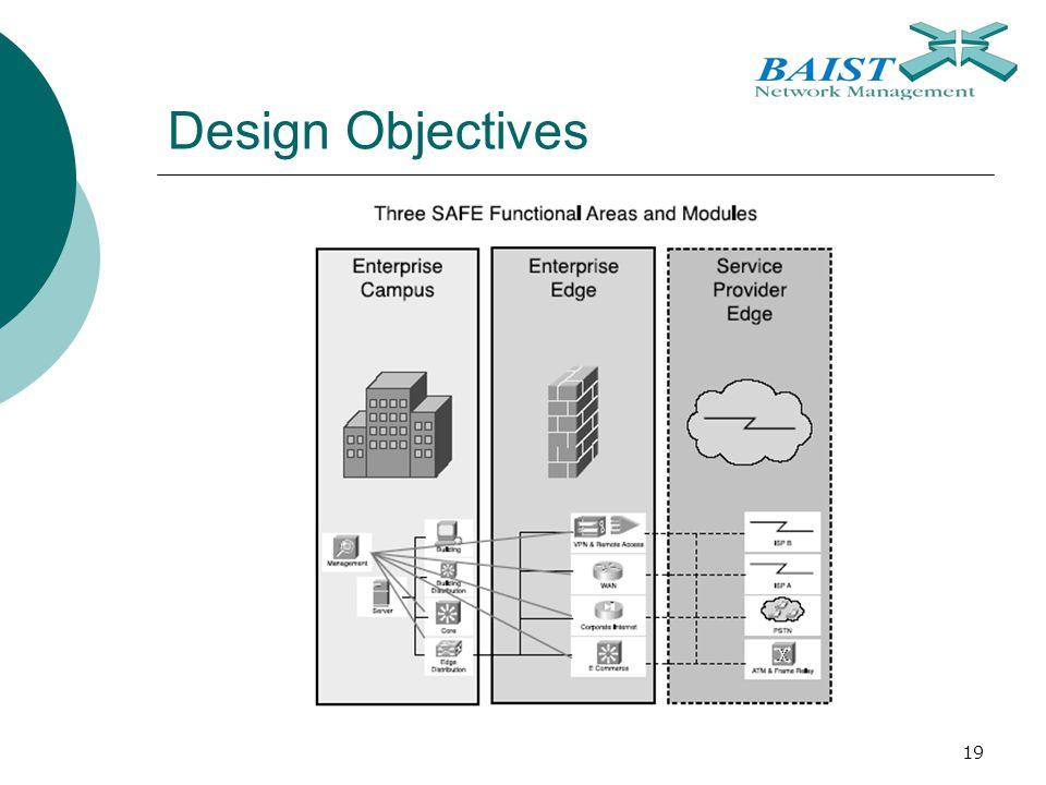 19 Design Objectives