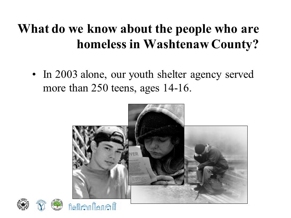 What do we know about the people who are homeless in Washtenaw County.