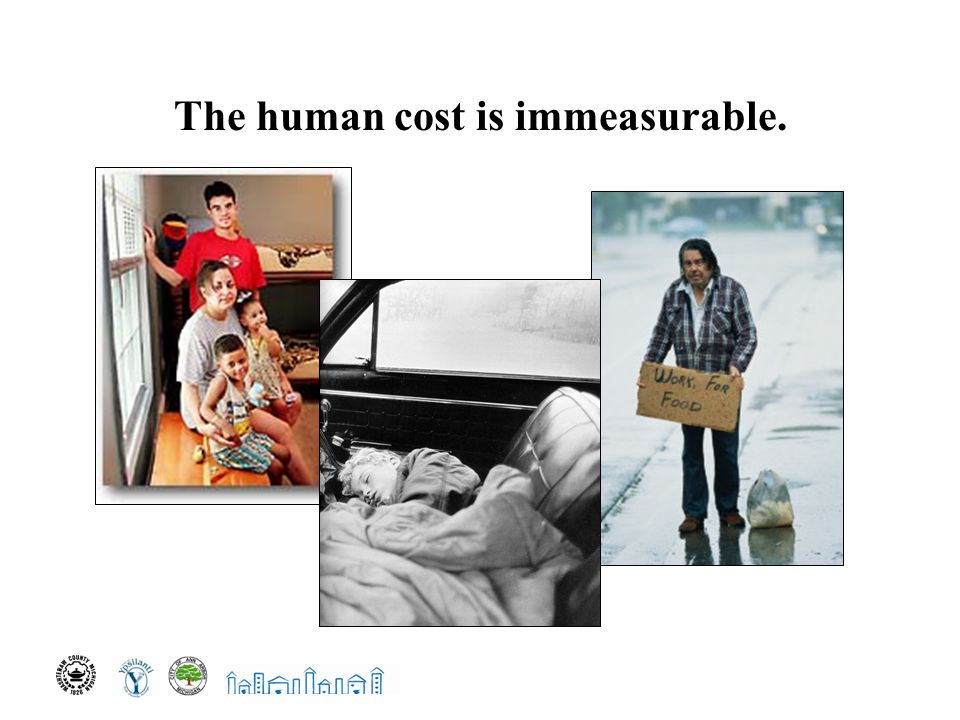 The human cost is immeasurable.