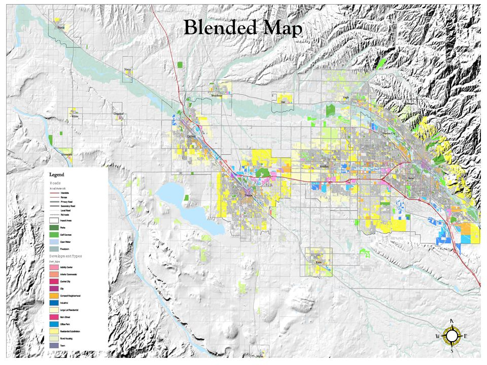 Blended Map