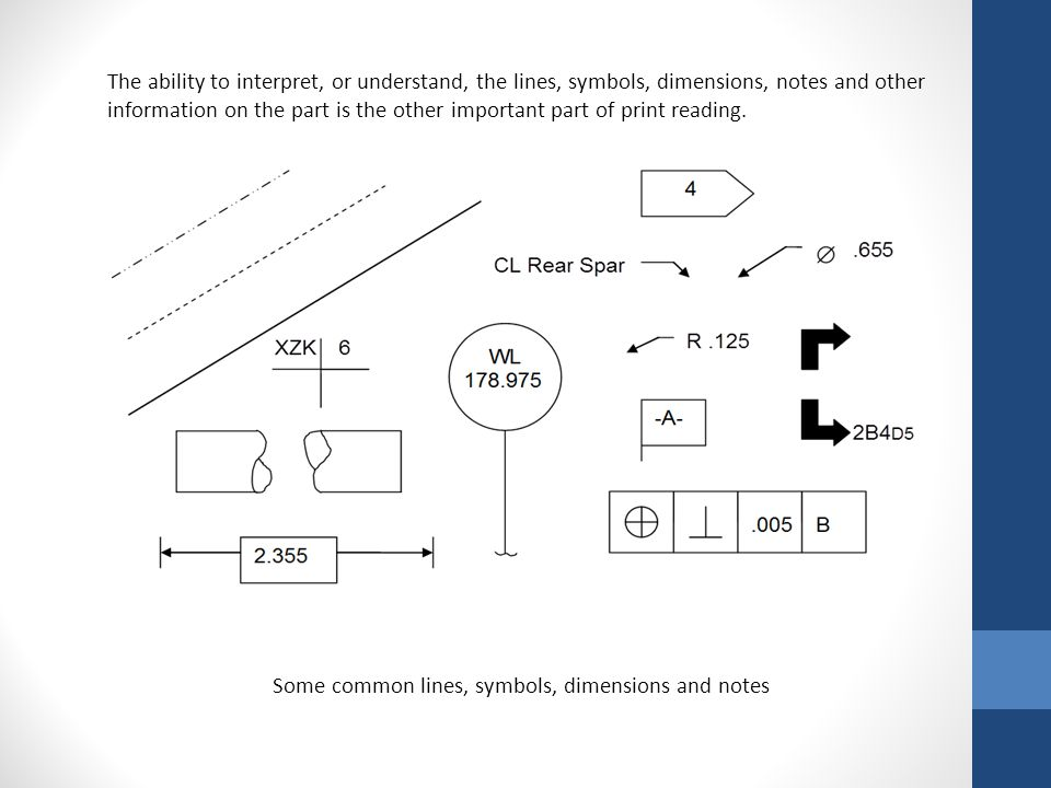 A print is the drawing of an object, but there is not enough information on a print to accurately create the part.