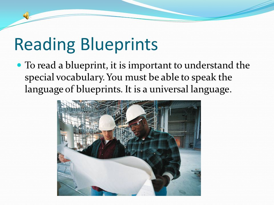 What is a blueprint. A blueprint is a plan or design which describes how a product should be made.