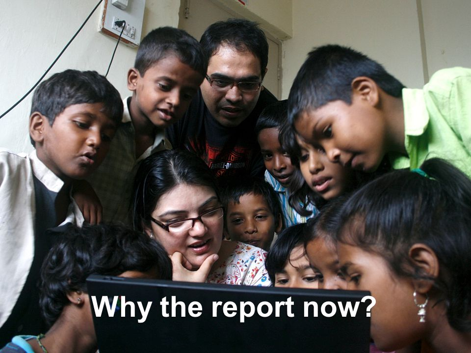 Why the report now?