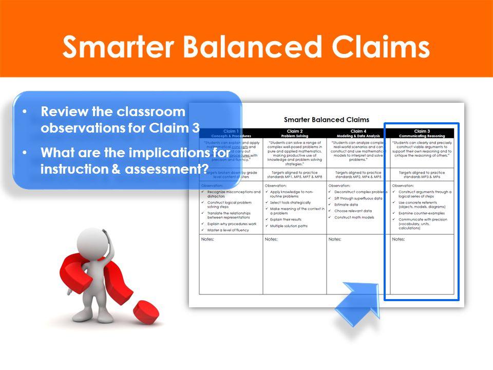 MathematicsELA/Literacy DOK3DOK4DOK3DOK4 NCLB Assessments <2%0%20%2% SBAC Assessments 49%21%43%25% Source : Yuan & Le (2012); Herman & Linn (2013) from Linda Darling-Hammond, Assembly Hearing, 3-6-13