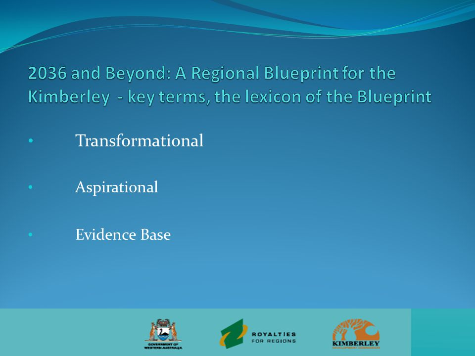 Transformational Aspirational Evidence Base
