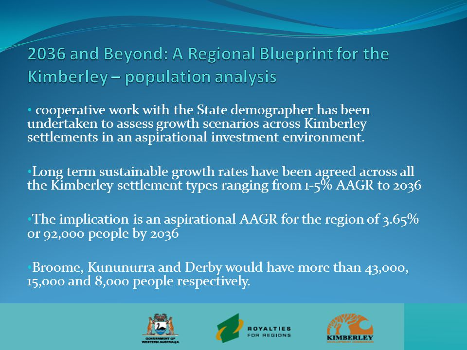 a regional population of 92,000 people would need 34,000 'new' jobs assessment of industries of comparative advantage shows they are set to create nearly 15,000 additional jobs Growth in other industries at rates between system and aspiration could create another 18-19,000 jobs