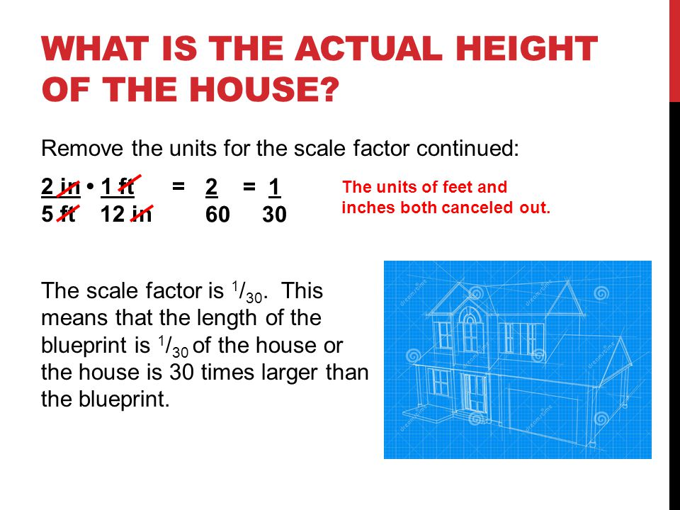 WHAT IS THE ACTUAL HEIGHT OF THE HOUSE.