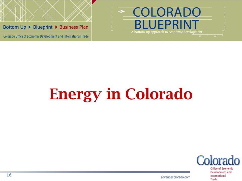 16 Energy in Colorado