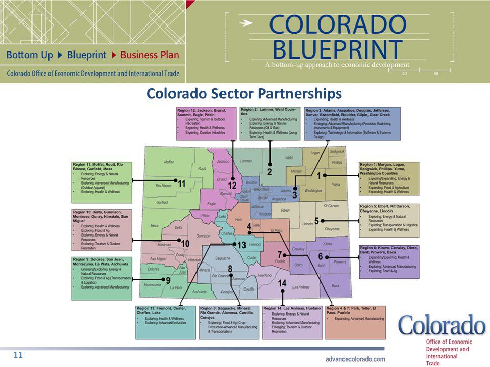 11 Colorado Sector Partnerships