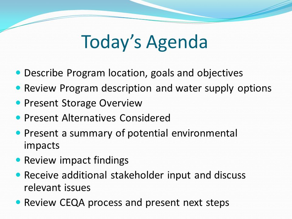 Alternatives Considered Alternative 1: Groundwater Storage Considers groundwater storage utilizing imported water, recycled water and stormwater for surface spreading and subsurface injection.