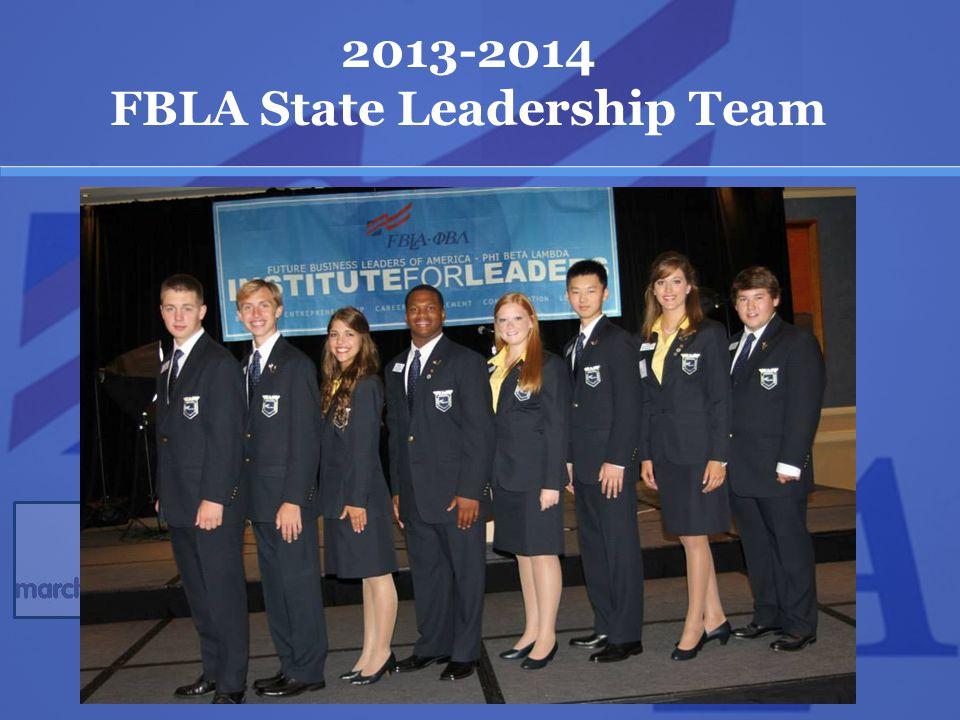 2013-2014 FBLA State Leadership Team
