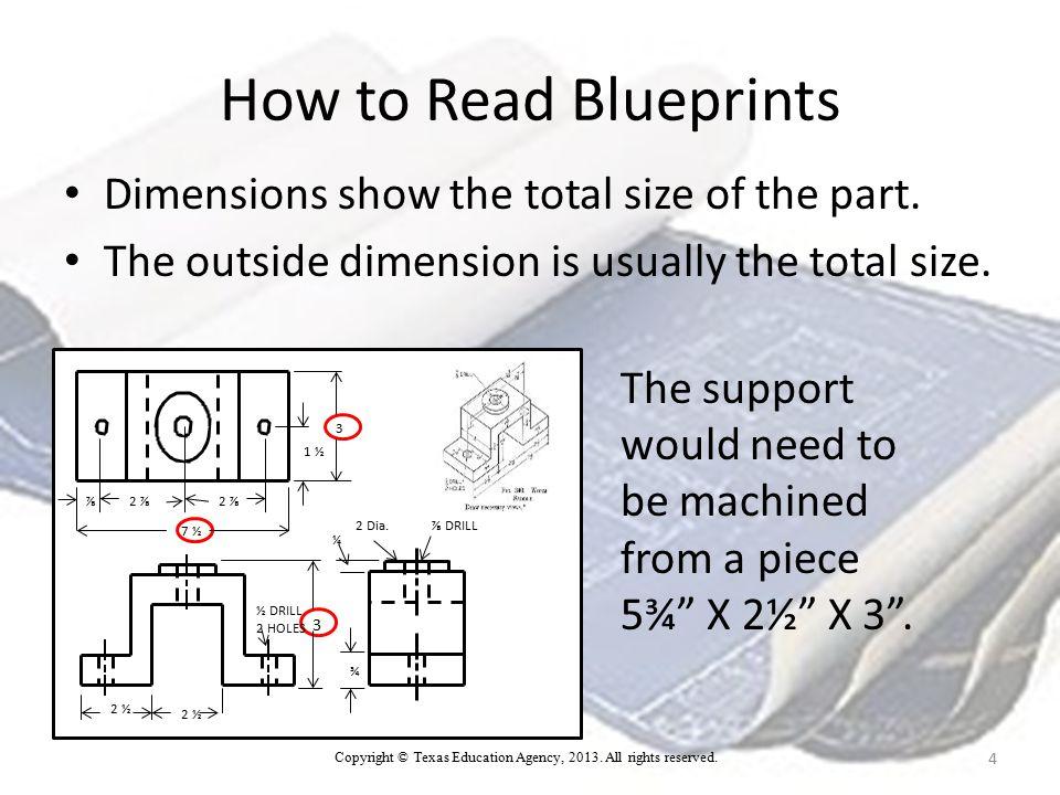 Handout for Blueprint Reading