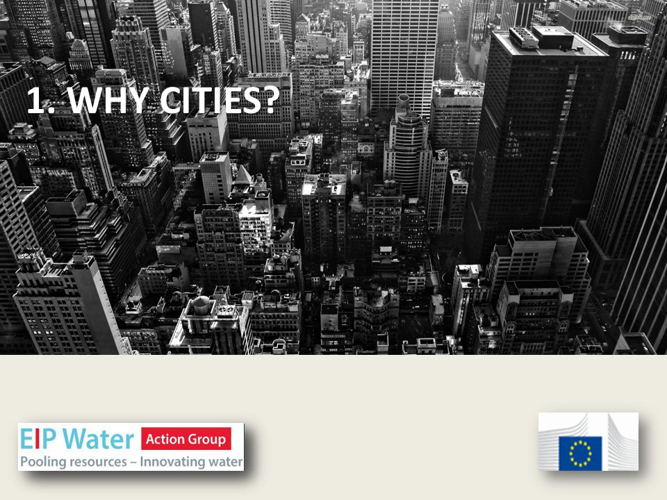 1. CITIES? 1. WHY CITIES?