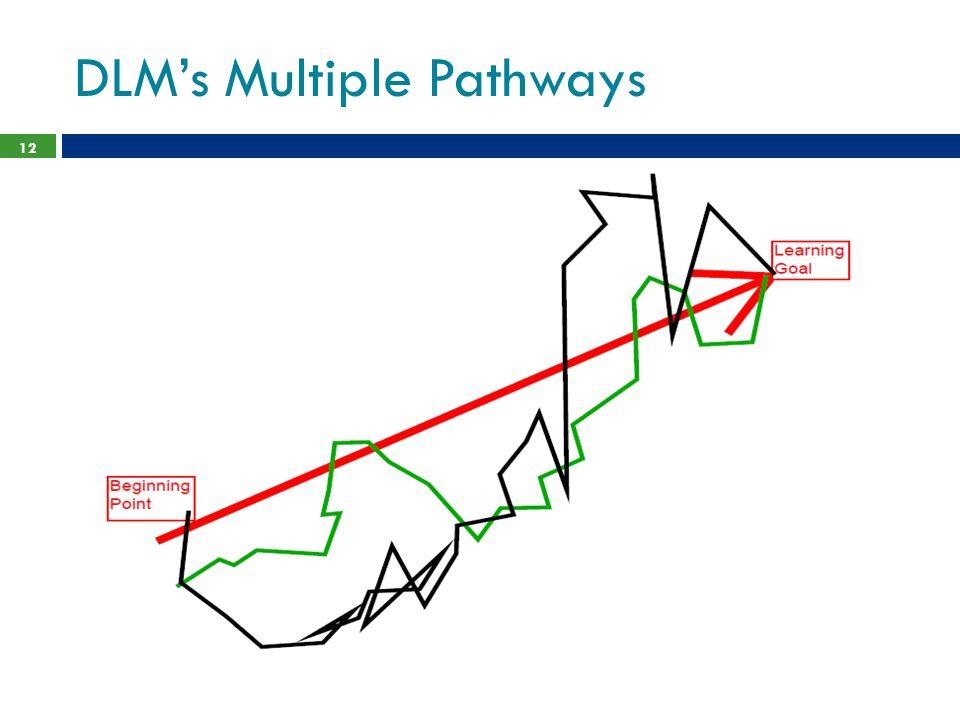 DLM's Multiple Pathways 12